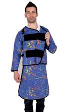 长袖双面分体套裙重叠卡扣型 C322