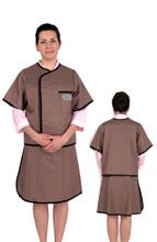 半袖双面分体套裙标准粘扣型 C311