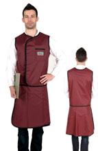 无袖双面分体套裙标准粘扣型 C301