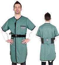 半袖双面连体防护衣标准粘扣型 C211