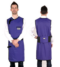无袖双面连体防护衣重叠卡扣型 C202